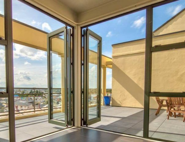 Penthouse Apartment View to Outdoors