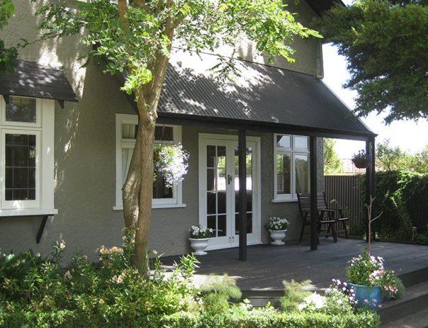 Garden Cottage Deck
